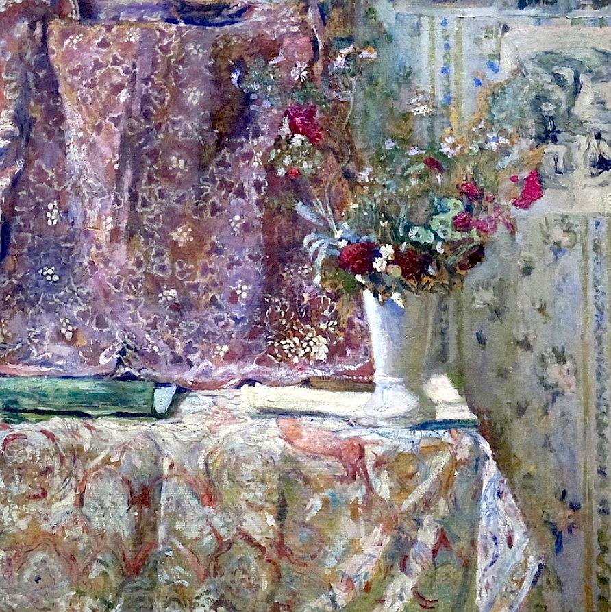 2 Jean Édouard Vuillard (French artist, 1868-1940) Fleurs (1904).jpg