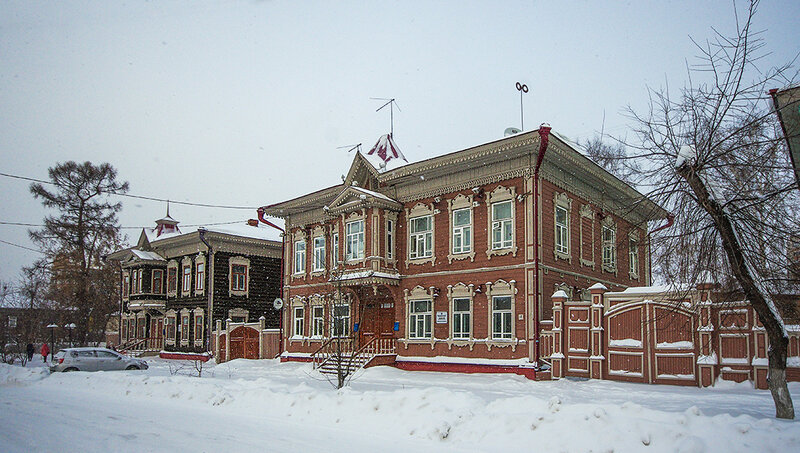 По старому Томску