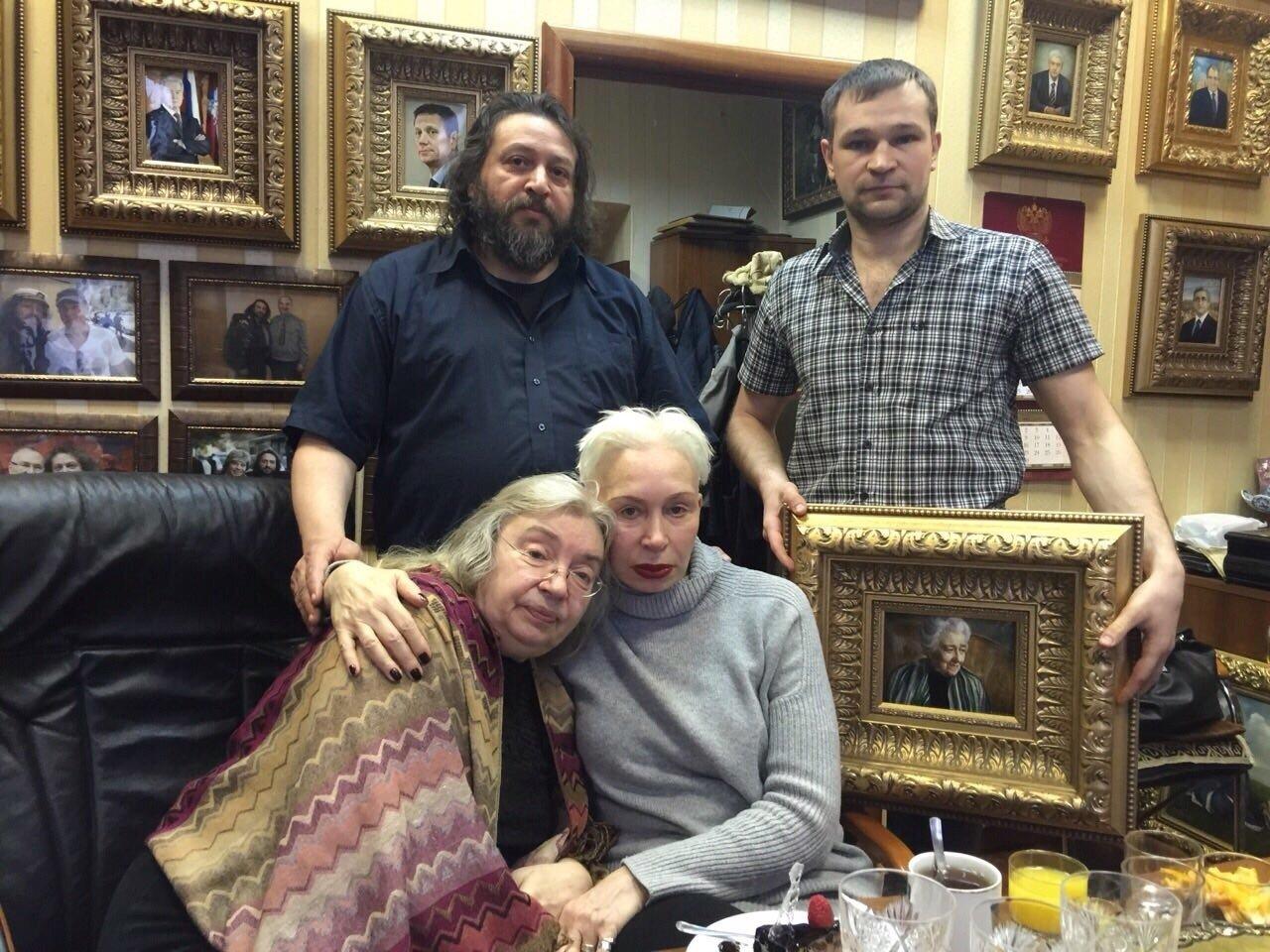 У Елены Флёровой