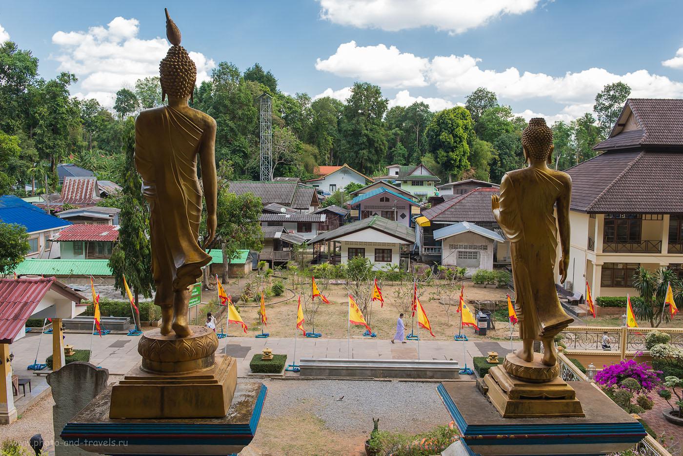 Фото 9.  Поездка по Таиланду на арендованной машине. Отдых в провинции Краби. Что посмотреть. У начала восхождения гору с Тигровым Храмом (500, 32, 7.1, 1/160)