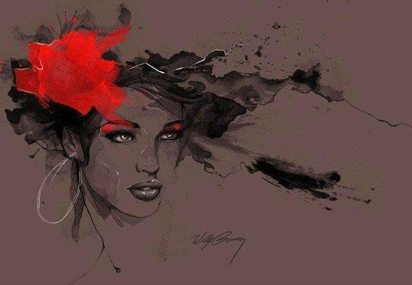 Вилли Гомес художник-иллюстратор из Доминиканской Республики