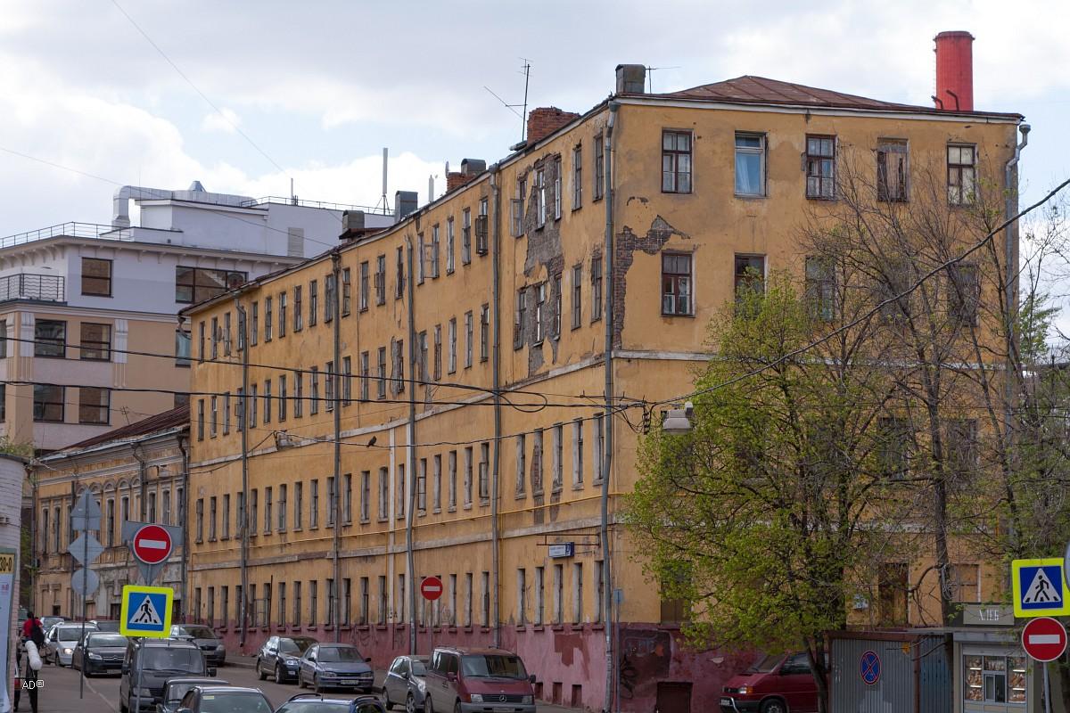 Общежитие 1889 г. постройки