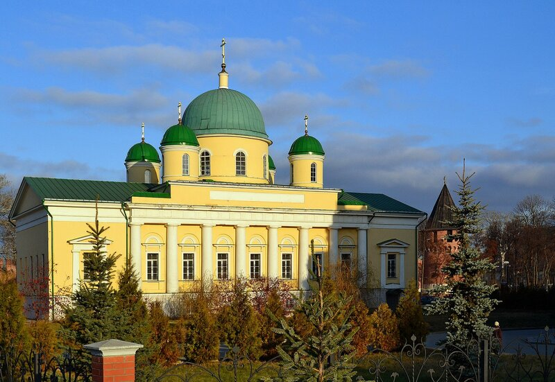 Преображенская церковь бывшего Успенского монастыря в Туле