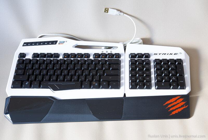 Клавиатура Mad Catz S.T.R.I.K.E 3