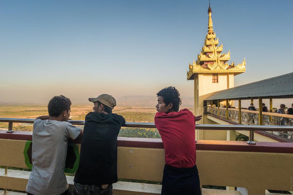 Бирма. Прибытие вМандалай