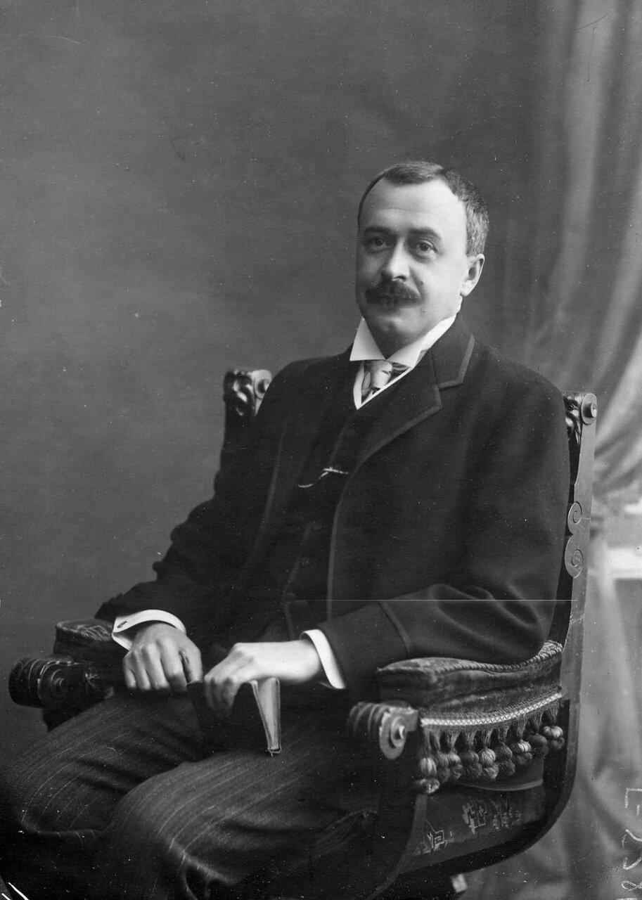 02. Секретарь аэроклуба Корн Василий Васильевич. 1914