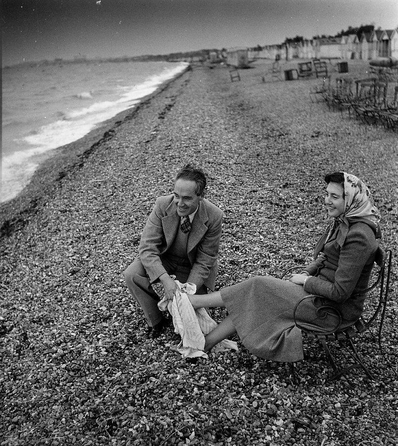 1956. Английский пляж