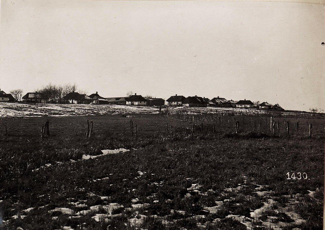Село Поничев возле Владимира-Волынского. (1918.)