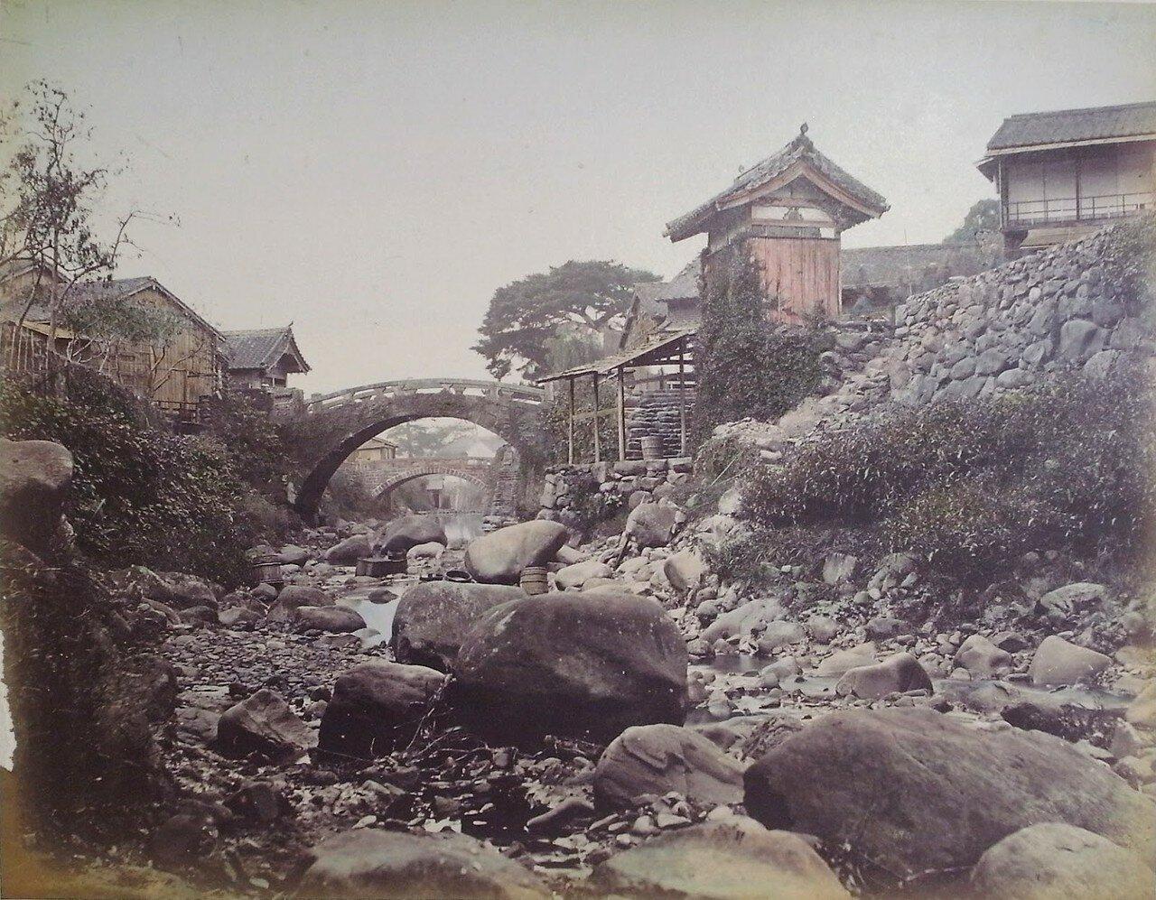 Мост Накадзима возле Нагасаки
