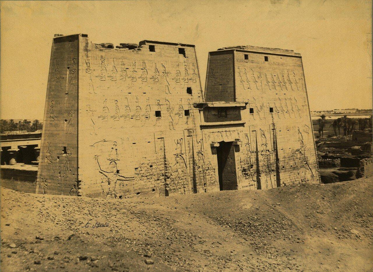 Эдфу. Храм Гора 1870