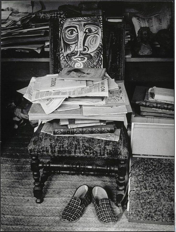1943. В мастерской Пикассо на улице Гранд-Огюстен