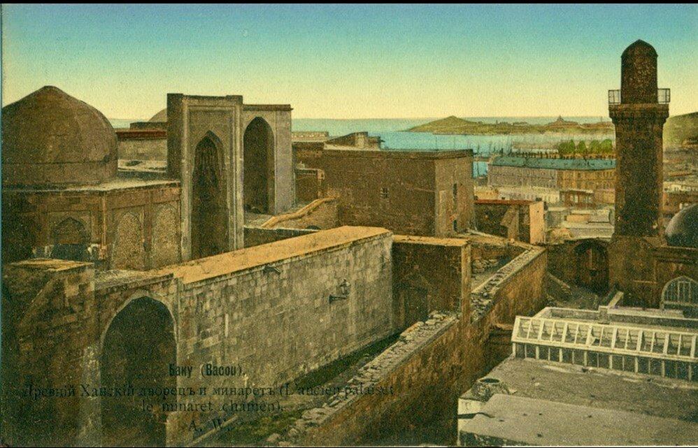Ханский дворец и минарет