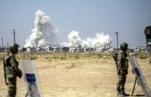 Россия продолжает наносить авиаудары по Сирии