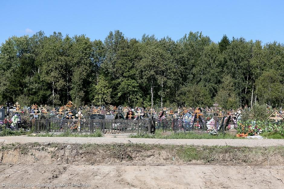 Квартал «Нового» кладбища станет образцовым