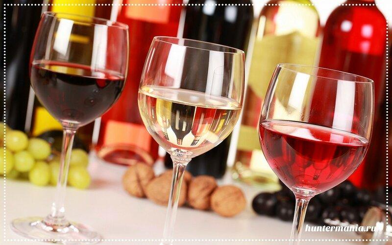 Вино красное, белое, розовое