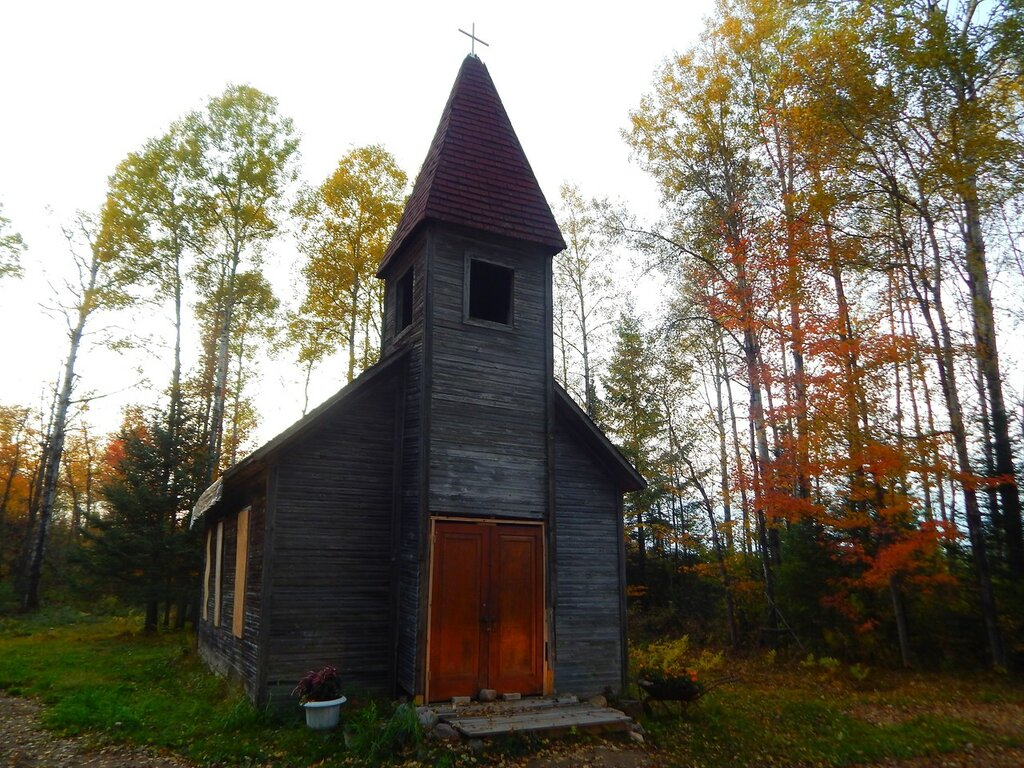Старая эстонская церковь.
