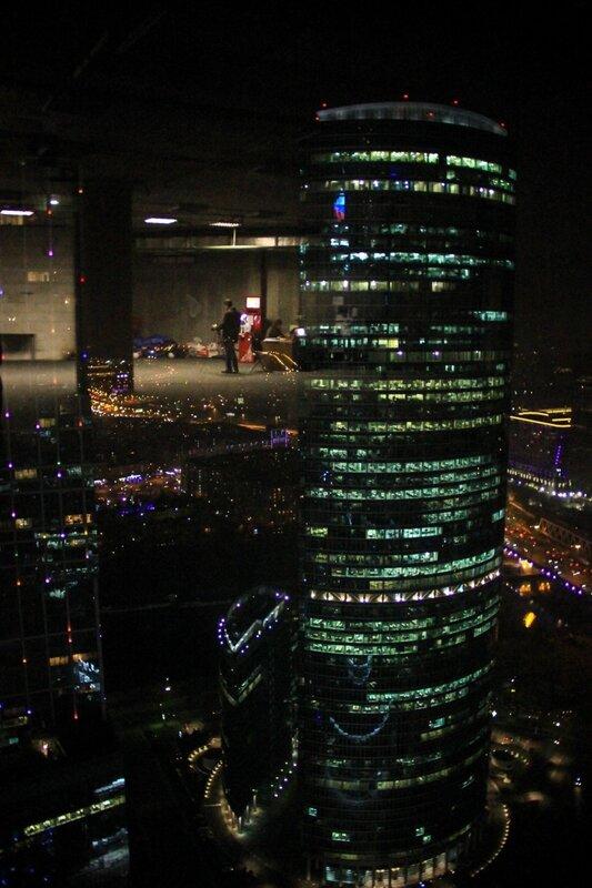 Вид с 56-го этажа