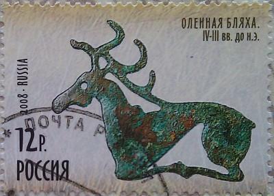 2008 оленья бляха 12