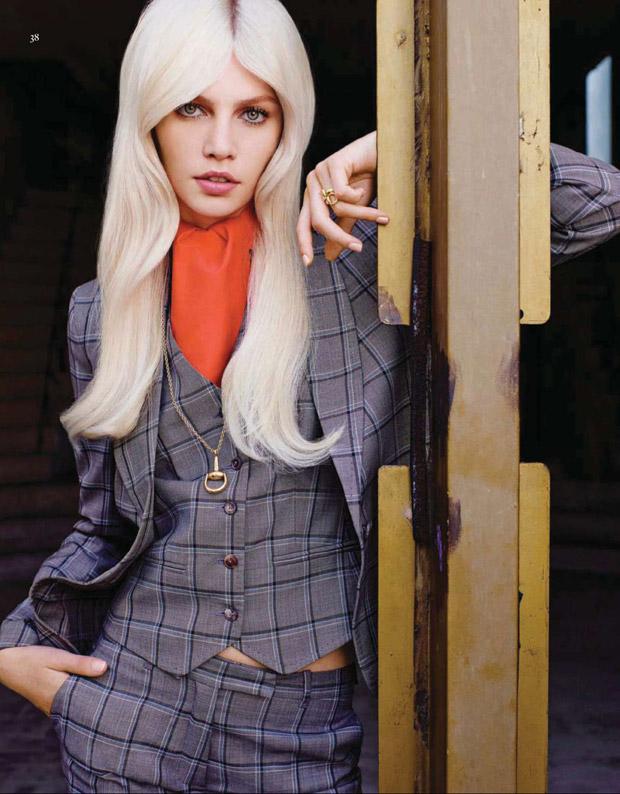 Алина Вебер (Aline Weber) в журнале Vogue China