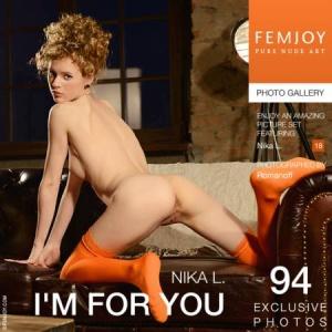 Журнал FemJoy: Nika L - I'm For You (23-04-2014)