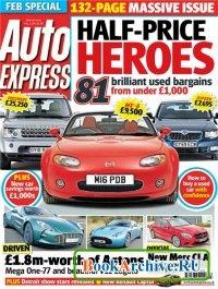 Журнал Auto Express - 16 January 2013.