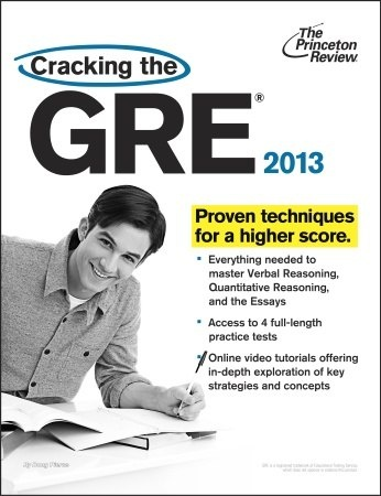 Книга Cracking the GRE, 2013 Edition