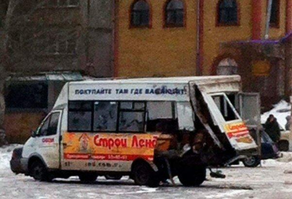 маршрутка взорвалась луганск