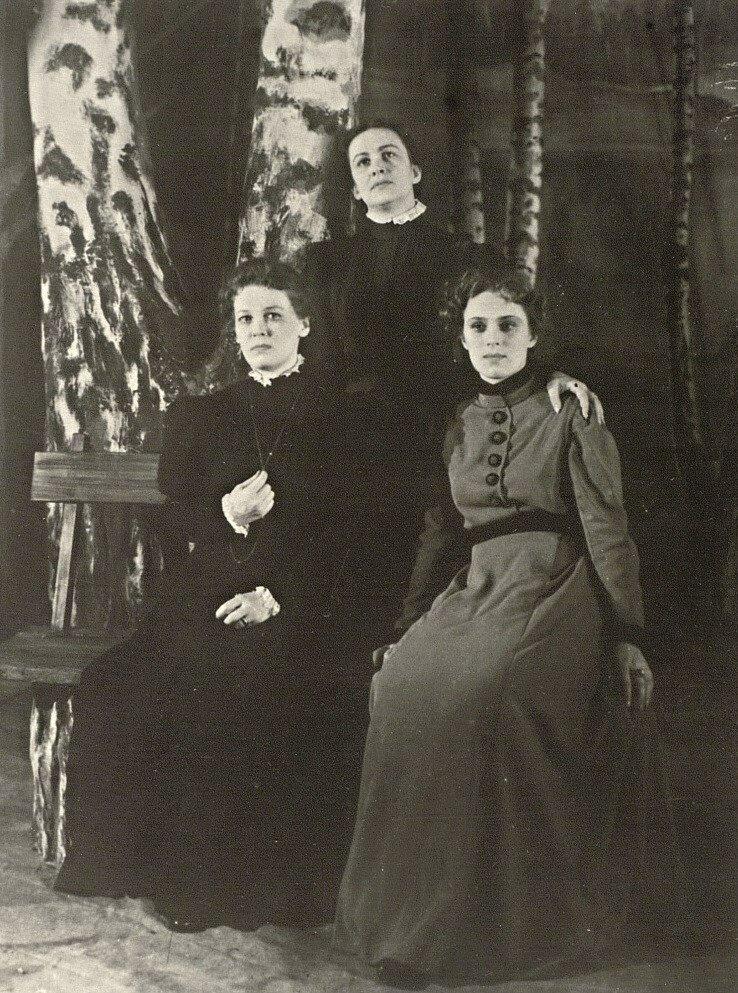 """""""Три сестры"""", 1954 год, Саратовский ТЮЗ"""