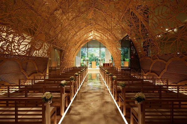 Часовня для венчания «в кружевах»