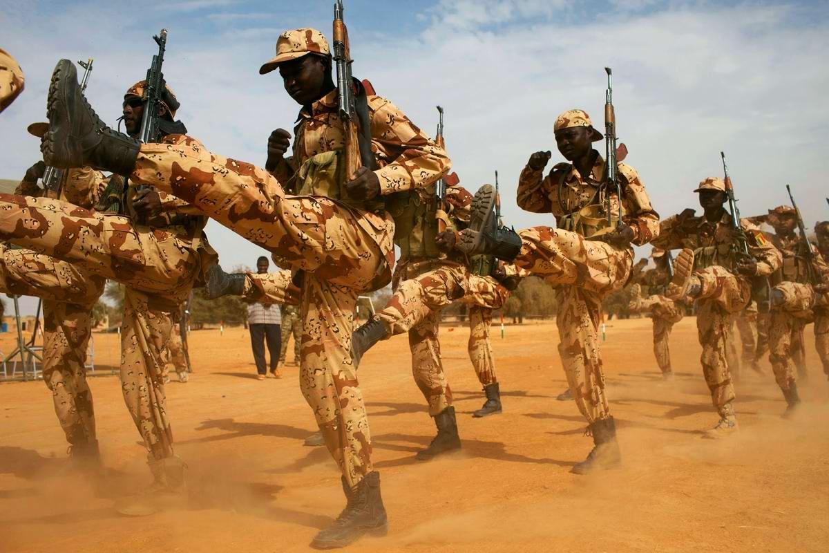 Привет из Чада: Африканская гвардия