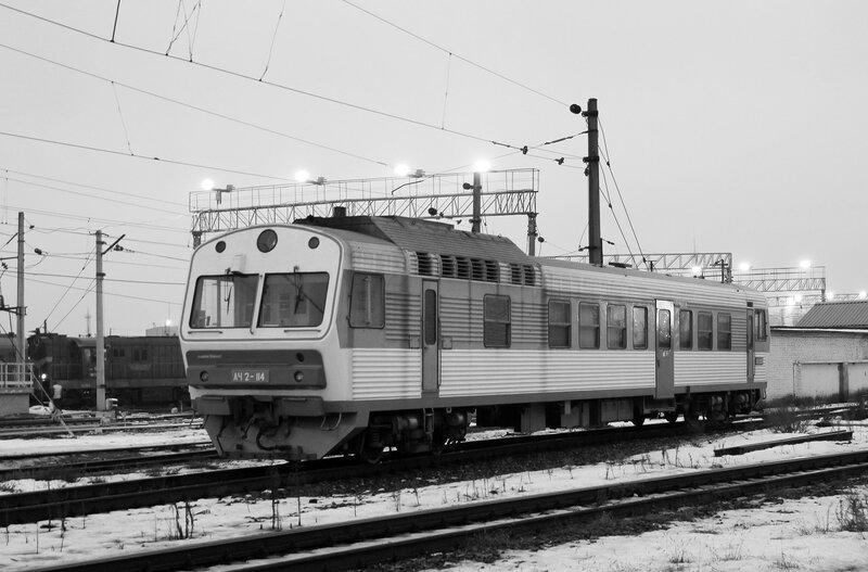 АЧ2-114 у Киевского вокзала