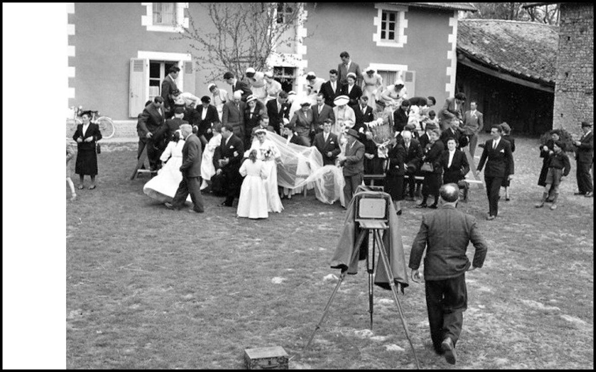 1956. Свадебное фото
