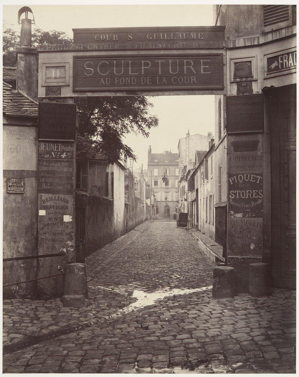 Двор Сен-Гийом. 1865