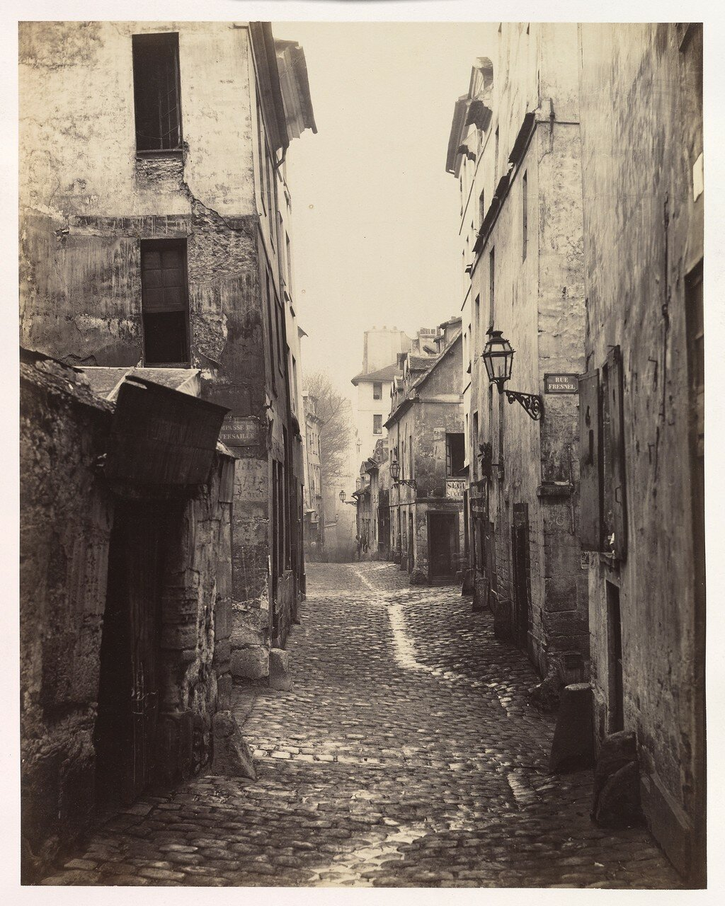 Рю Травэрсинэ. 1862