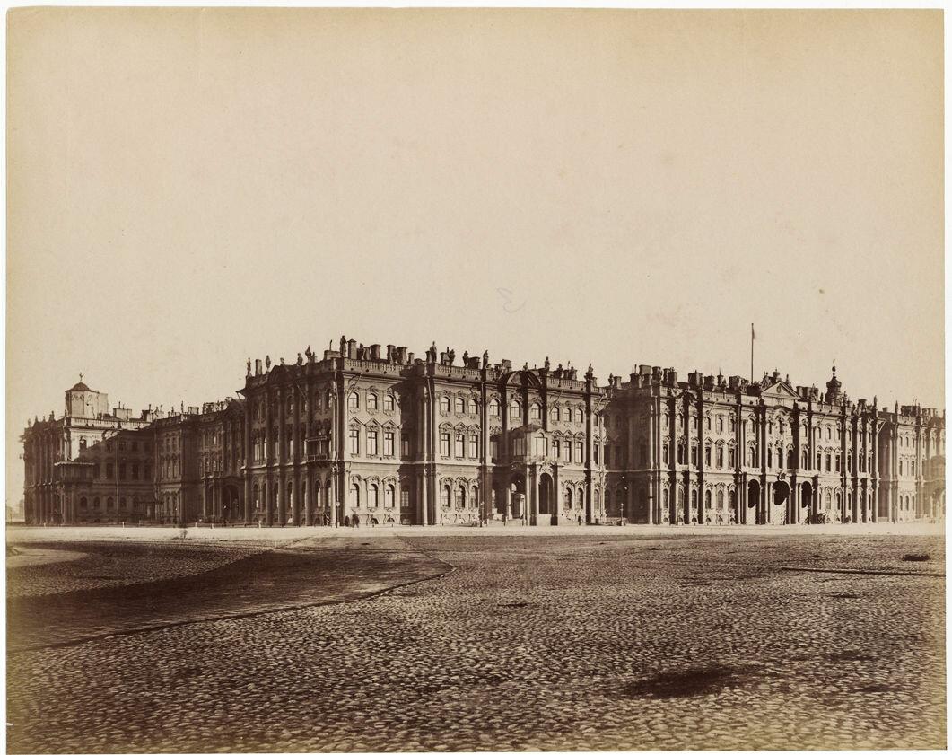 1870. Зимний дворец