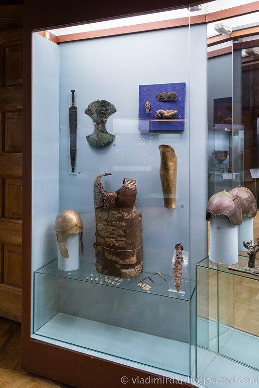 Выставка Золото потомков Геракла, Народы Прикубанья в VI в. до н.э. – III в. н.э. Витрина №1.
