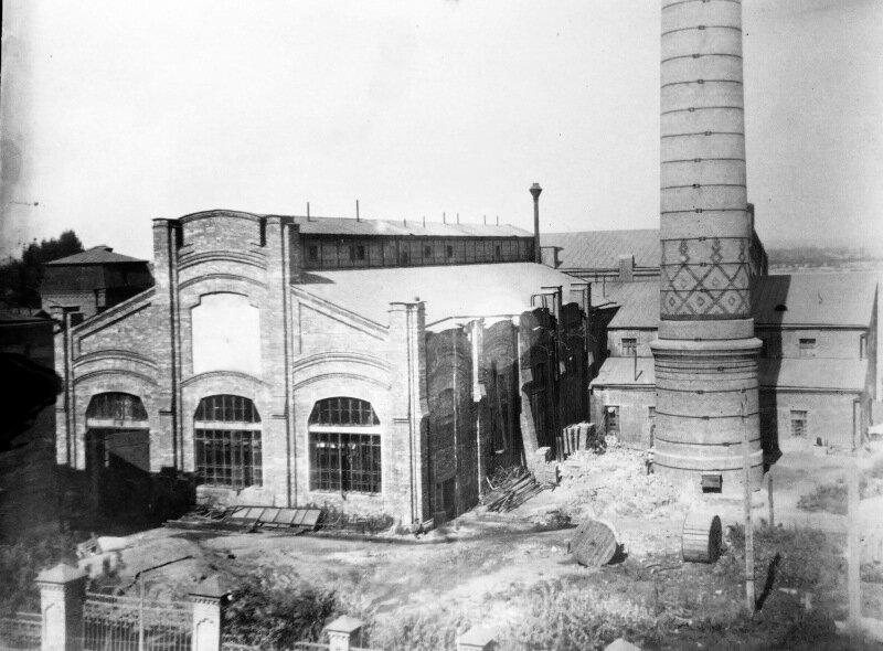 Новые корпуса самарской электростанции 1914 г.