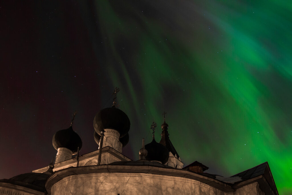 Northern Lights em Vologda.  18/3/20