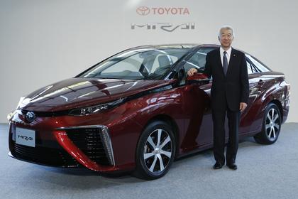 Toyota начнет продавать серийные автомобили на водороде