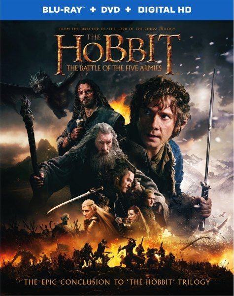 ������: ����� ���� ������� / The Hobbit: The Battle of the Five Armies (2014/BDRip 720p/HDRip/2800Mb/2100Mb/1400Mb)