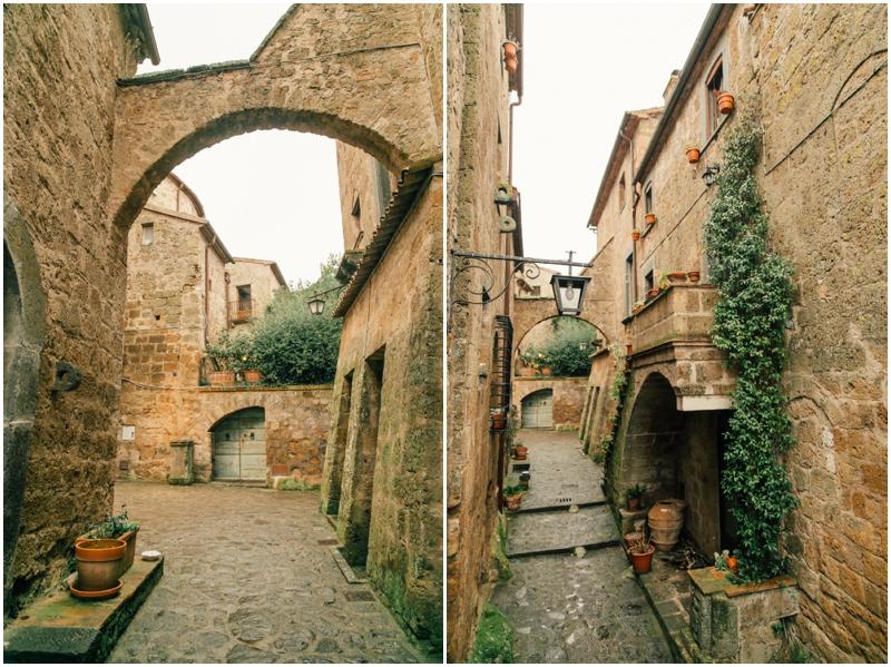 город-замок Чивита ди Баньореджо (Civita di Bagnoreggio) в Италии