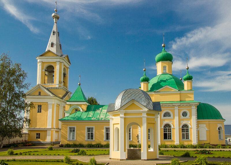 Оятский монастырь