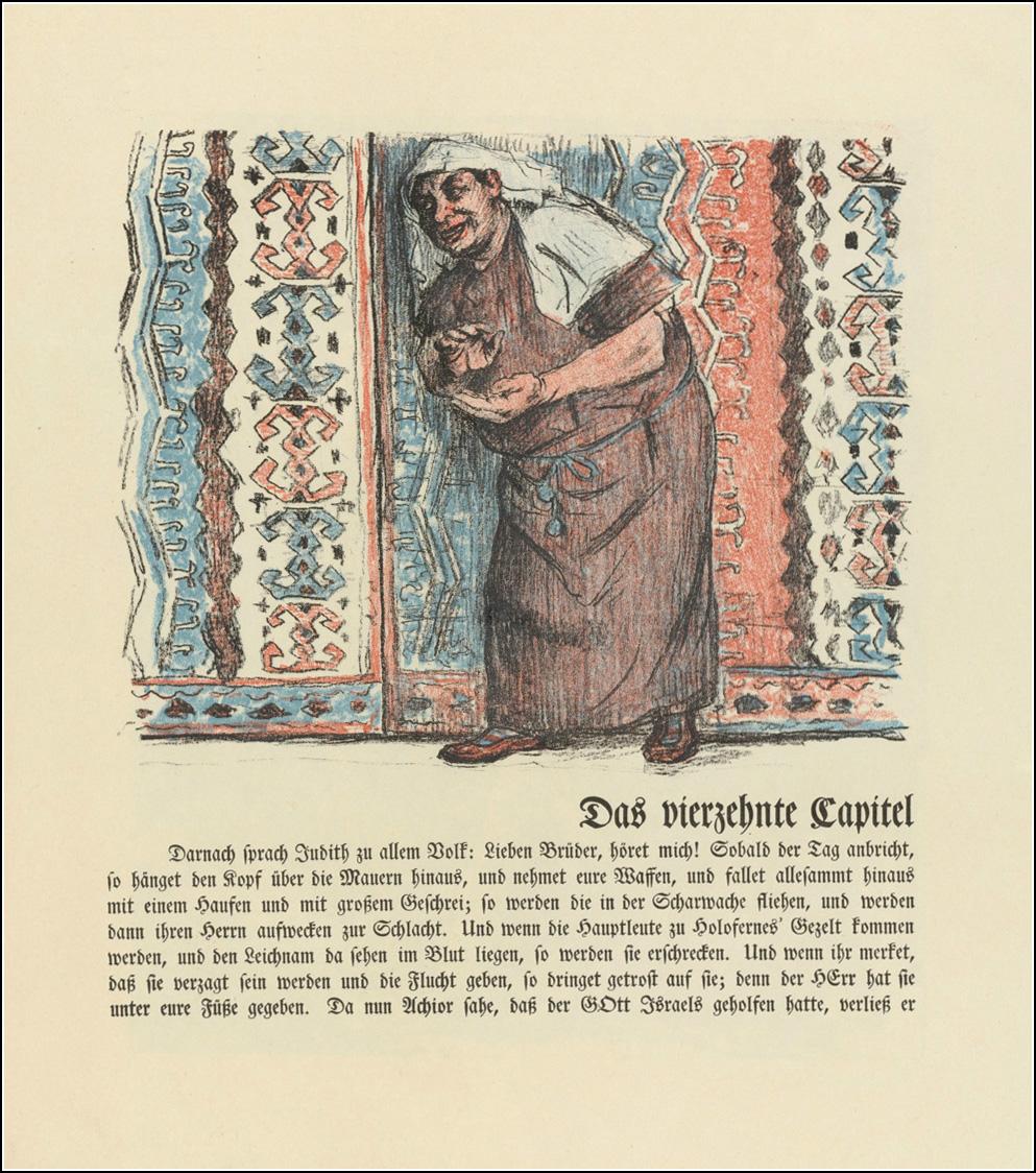 Lovis Corinth, Das Buch Judith