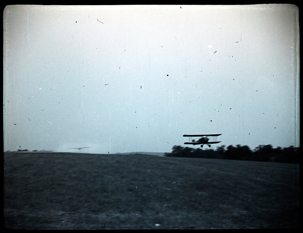 Elmira Glider Meet - July 1937. 1-8 Glider take-offs & landings