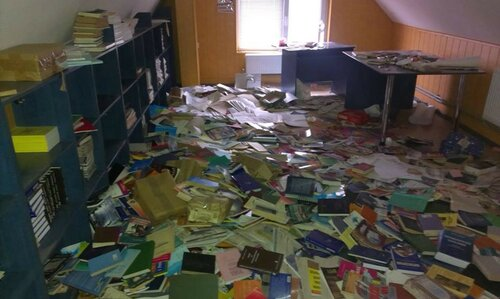 библиотека красный луч разграбили казаки лнр