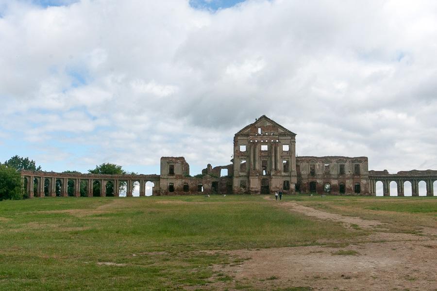 дворец Коссово и Сапег в Ружанах