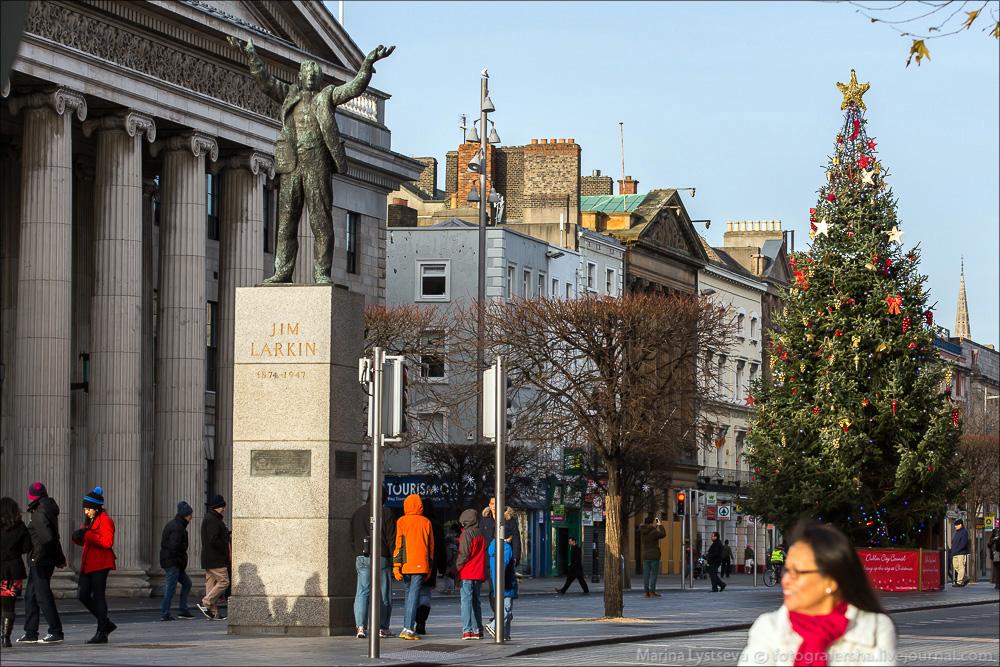 Предновогодний Дублин