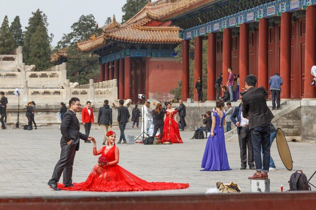 Фотосессия, Храм Императорских Предков, Пекин