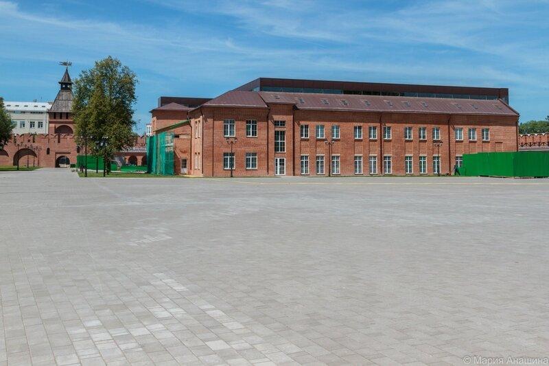 Корпуса музея Тульский кремль