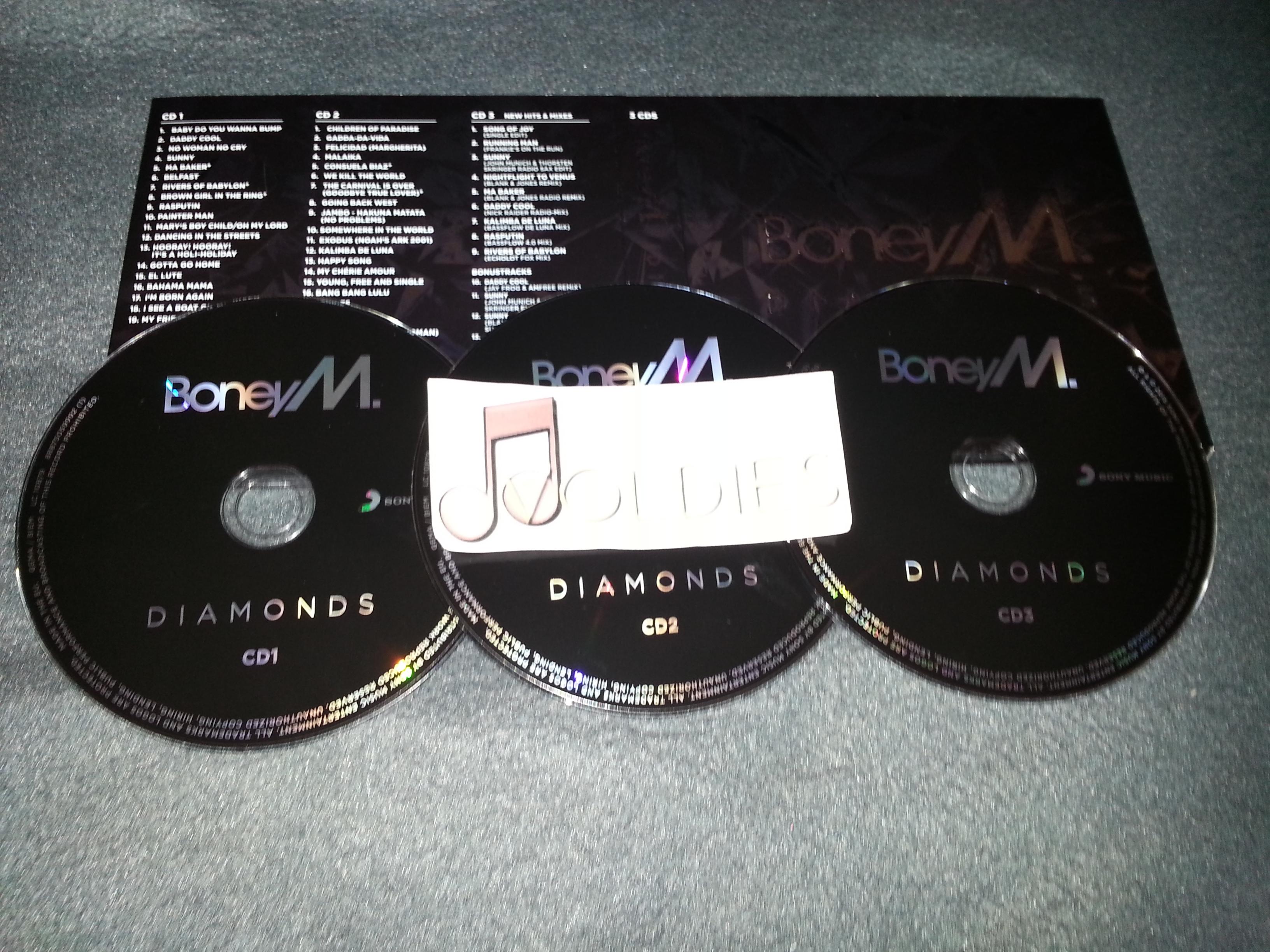 Boney M  - Diamonds (40th Anniversary Edition) (3-CD) - 2015